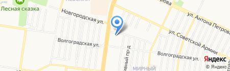 Стоматолог и Я на карте Барнаула