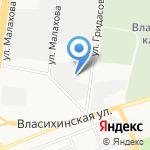 Сварочная мастерская на карте Барнаула