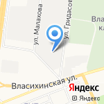 МЕТАЛЛмастер на карте Барнаула