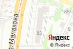 Схема проезда до компании A-Profus в Барнауле