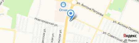 Авиакассы Билет-Алтай на карте Барнаула
