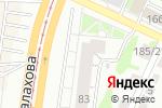 Схема проезда до компании D-sight в Барнауле