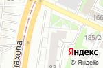 Схема проезда до компании ЖИЛФОНД в Барнауле