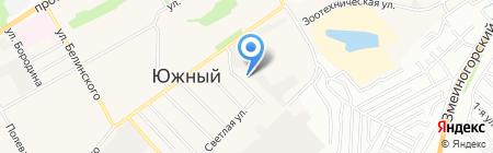 Церковь Спасение Евангельских христиан-баптистов на карте Барнаула