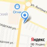 Выше Неба на карте Барнаула