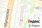 Схема проезда до компании А-МИКС спецодежда в Барнауле