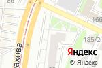 Схема проезда до компании Жалюзи Центр в Барнауле