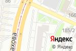 Схема проезда до компании Российский кафель в Барнауле