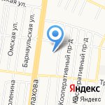 Мечта на карте Барнаула