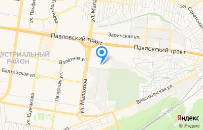 Местоположение на карте пункта техосмотра по адресу г Барнаул, ул Гридасова, д 5