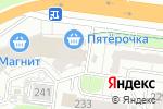 Схема проезда до компании Рошель в Барнауле
