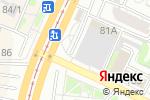 Схема проезда до компании Чистый город в Барнауле