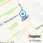 Отдел полиции №6 Управления МВД России по г. Барнаулу на карте Барнаула