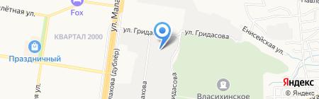 ТехноНИКОЛЬ на карте Барнаула