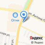 BELLAGIO на карте Барнаула