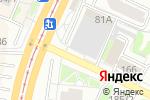Схема проезда до компании Автомеридиан в Барнауле