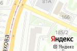 Схема проезда до компании Эрос в Барнауле