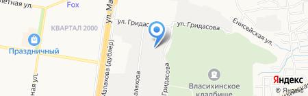 Арбитражный управляющий Линник П.А. на карте Барнаула