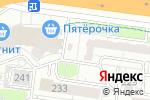 Схема проезда до компании Магнит в Барнауле