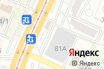 Схема проезда до компании Гараж в Барнауле