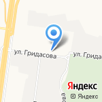 Трамвайное депо №3 на карте Барнаула