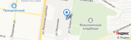 АльпИндустрия на карте Барнаула