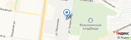 Крафт-Моторс на карте Барнаула
