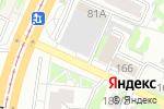 Схема проезда до компании Пятое колесо в Барнауле