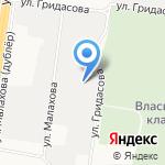 Дельта Фиш на карте Барнаула
