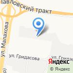 Автоуниверсал на карте Барнаула