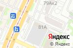 Схема проезда до компании Белый Дом в Барнауле