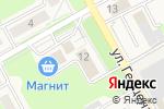 Схема проезда до компании Стик в Барнауле