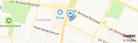 Теплааудит на карте Барнаула