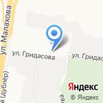 Люкро на карте Барнаула
