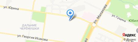 Алтай на карте Барнаула