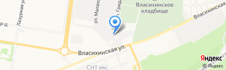 Алабор плюс на карте Барнаула