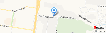Меч на карте Барнаула