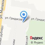 Главдоставка на карте Барнаула