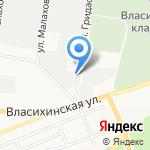 ТПК Пандора на карте Барнаула