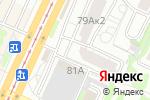 Схема проезда до компании Справедливая Россия в Барнауле