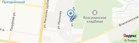 Мастер Склад Барнаул на карте Барнаула