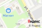 Схема проезда до компании АвтоГрад в Барнауле