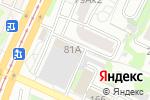 Схема проезда до компании 2x2 в Барнауле