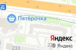 Схема проезда до компании Алые паруса в Барнауле