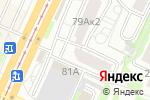 Схема проезда до компании Рябина в Барнауле