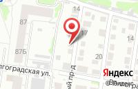 Схема проезда до компании Мана-Ко в Барнауле