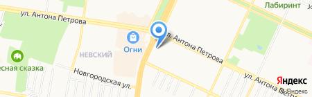 Адвокатский кабинет Селиванова С.Б. на карте Барнаула