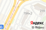 Схема проезда до компании Скарабей в Барнауле