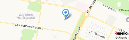 Ленинский районный суд г. Барнаула на карте Барнаула