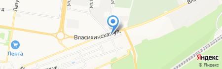 Автоботаник на карте Барнаула